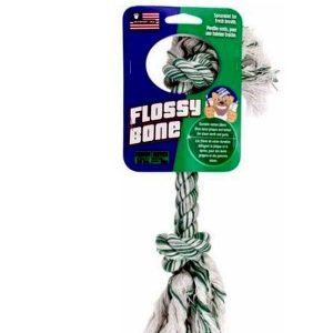 Petsport Flossy Bone Dog Toy Small 10 cm