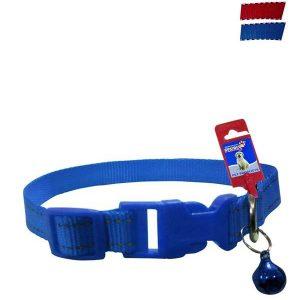 Fekrix 2 Lines Plain Nylon Dog Collar Plug 20mm 18 Inch