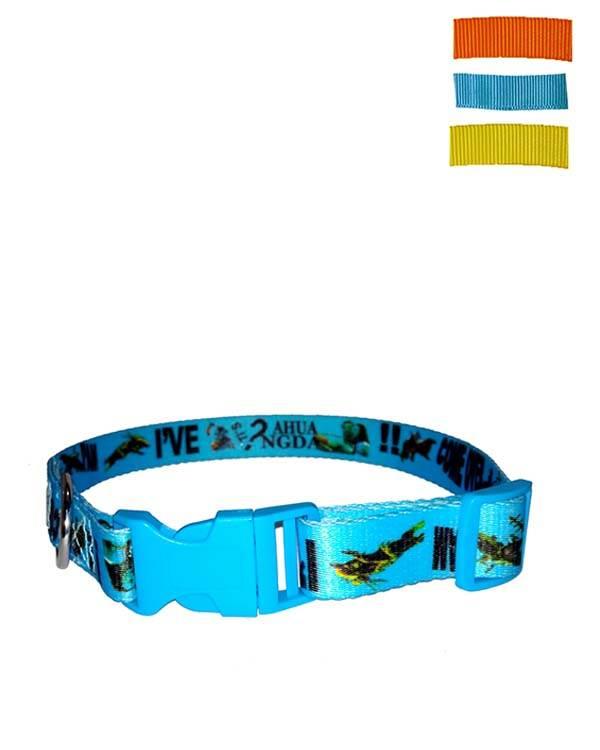 Fekrix Avonda Nylon Dog Collar Plug 25mm 20 Inch Plushytails