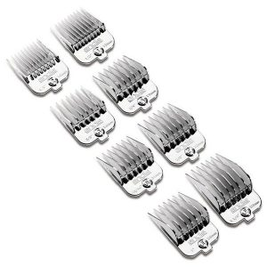 Andis Magnetic Chrome Attachment Combs, Code-65875