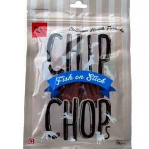 Chip Chop Snacks Fish On Stick 70g