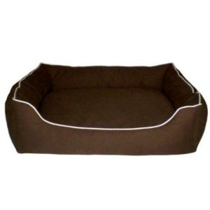 Dog Gone Smart Lounger Brown Bed 37 x 31
