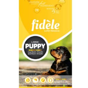 Fidele Puppy Food For Large Breed - 4 kg