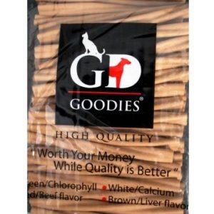 Goodies Dog Treats Liver Twisted Sticks 450 gm