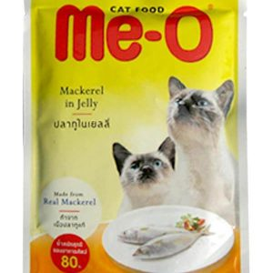 Me-o Mackerel in Jelly Cats Food 80g
