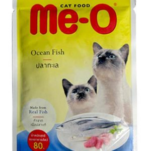Me-O Ocean Fish In Jelly 80g