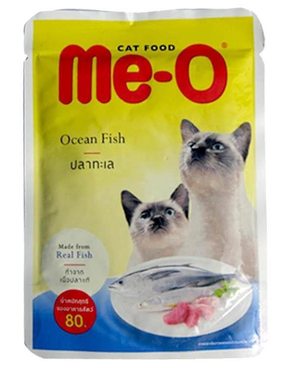 Me-O Ocean Fish In Jelly 80g