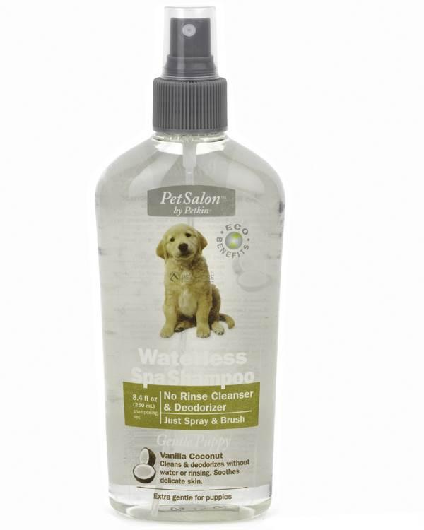 Petkin Waterless Spa Shampoo - Gentle Puppy 250ml