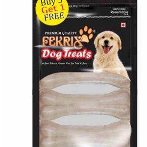 Fekrix White Bone Dog Treats small 4 pc