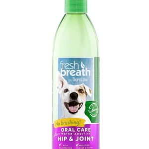 TropiClean Pets Fresh Breath Oral Care Water Additive Plus Hip & Joint 473 ml