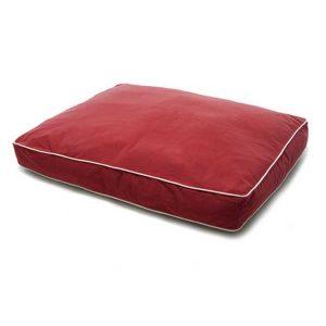 Dog Gone Smart Rectangular Beds Red SM (34Ó x 26Ó)