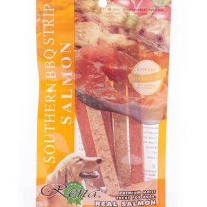 Rena Dog Treats Southern BBQ Strip Salmon 113Gm