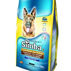 Simba Croquettes With Chicken Dog Food 4 Kg