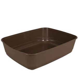 Trixie Classic Litter Tray With Rim brown (15x6x19)