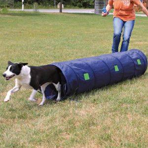 Trixie Dog Activity Agility Sack Tunnel - Blue