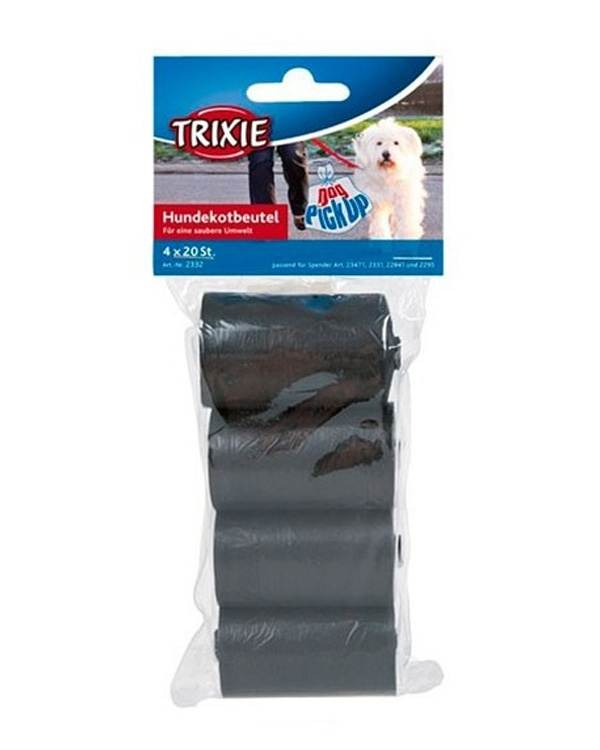 Trixie Dirt Pick Up Bags For Dog Plushytails