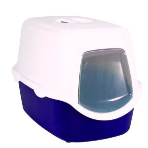 Trixie Vico Easy Clean Cat Litter Tray Blue
