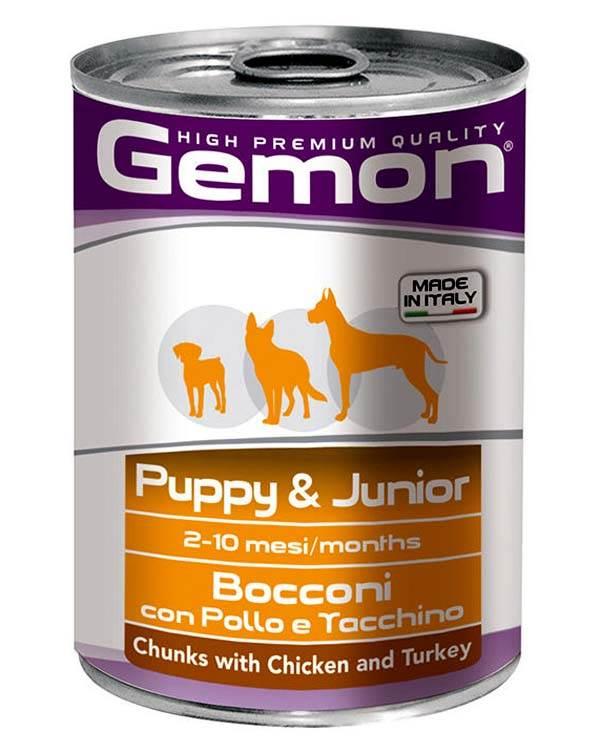 Gemon Chunk Puppy And Junior Chicken 415Gm