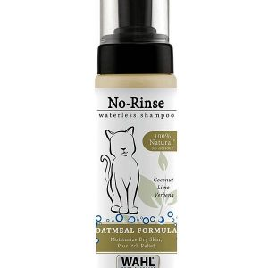 Wahl No Rinse Waterless Oatmeal Cat Shampoo 210ml
