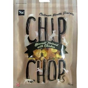 Chip Chops Treats Biscuit Twined With Chicken 70g