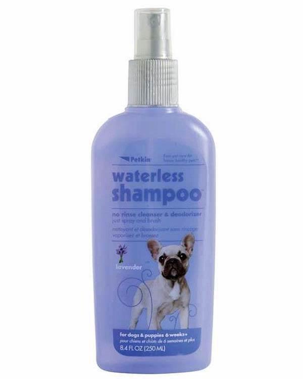 Petkin Waterless Spa Shampoo Lavender 250ml Plushytails